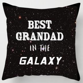 Best Grandad in the Galaxy fathers day cushion