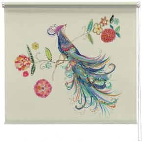 Bird of Paradise printed blind