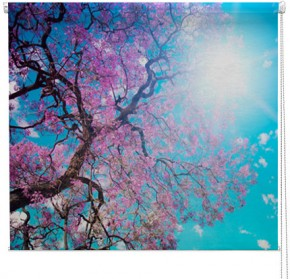 Blossom Tree printed blind