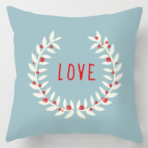 blue love valentine cushion