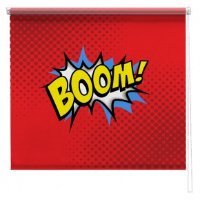 Boom comic printed blind