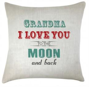 grandma Love you to the moon cushion