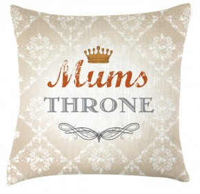 Mums throme cushion