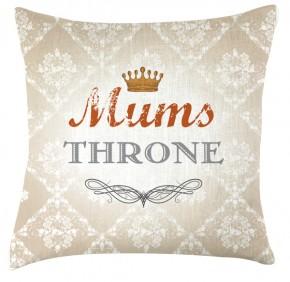 Mums throme cushion