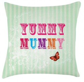 Yummy Mummy cushion