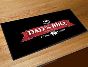 Dads BBQ bar runner mat