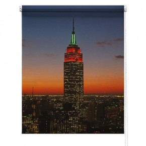 Empire state building printed blind