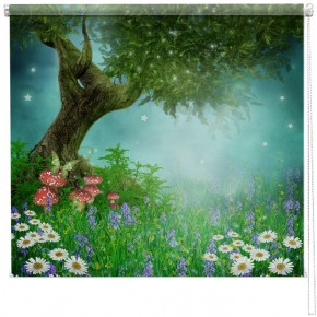 Enchanted Forest printed blind