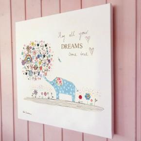 Elephant dreams illustration