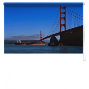 Golden gate bridge printed blind