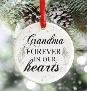 Family Memorial Christmas Decoration