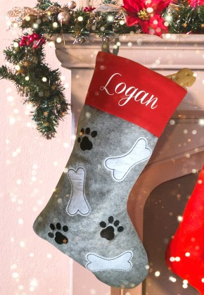Personalised Christmas Deluxe Pet Stocking