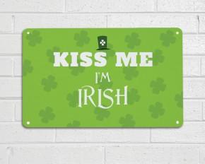 Kiss me Im Irish Sign