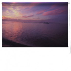 Seascape printed picture blind