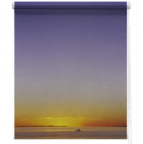 Sunset printed roller blind
