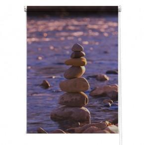 Pebbles printed blind