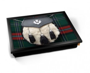 Scottish Sporran laptray