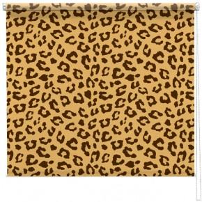 Leopard print pattern blind
