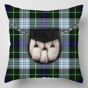 Check Tartan Sporran cushion