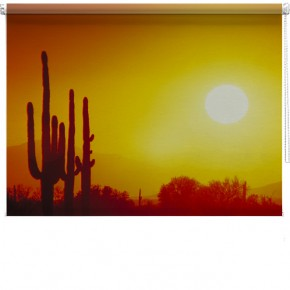 Mexican Sunrise printed blind