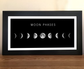 Moon Phases framed print