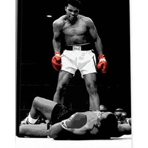 Muhammed Ali printed blind