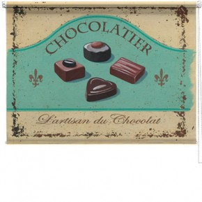 Chocolatier printed blind martin wiscombe