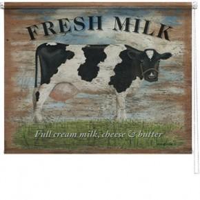 Fresh Milk printed blind martin wiscombe