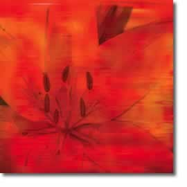 flower canvas art