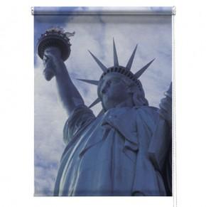 New York printed blind