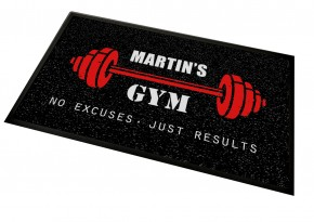 Personalised home Gym mat