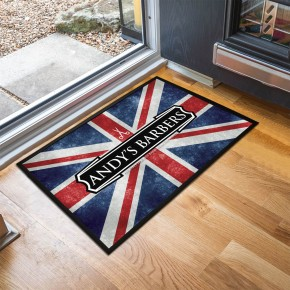 Personalised Union Jack Door Mat