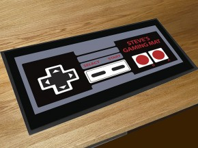 Personalised gaming control bar runner