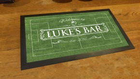 Personalised Football pitch bar runner