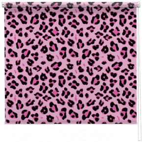 Pink Leopard print blind