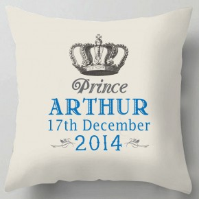 Personalised Prince cushion