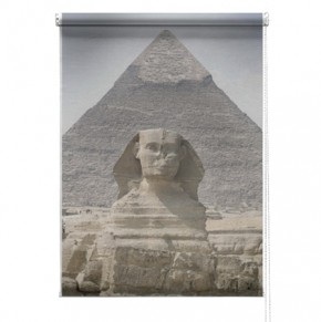 Pyramid sphinx printed blind