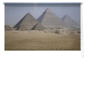 Pyramid printed blind