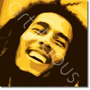 Bob Marley Pop art canvas