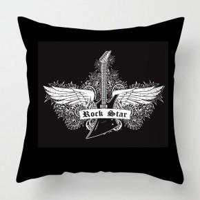 Rock star cushion