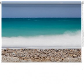 Sea spray printed blind