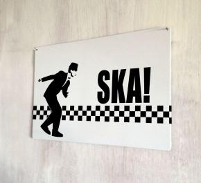 Ska Dancer Retro vintage Sign