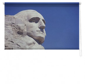 Mount rushmore printed blind