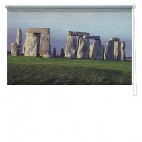 Stone henge printed blind