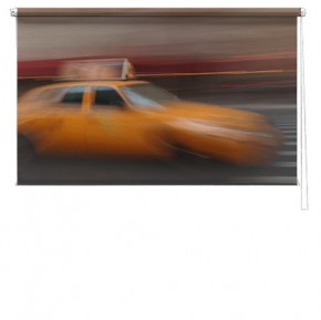 Taxi printed blind