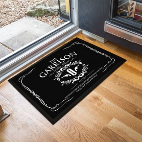 The Garrison door mat
