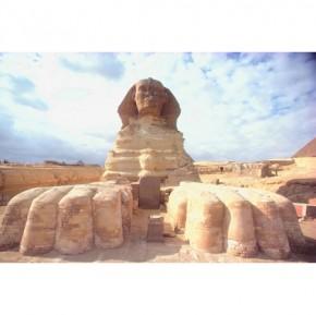 Sphinx canvas art