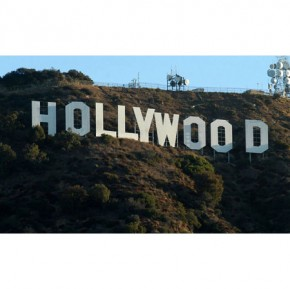Hollywood canvas art