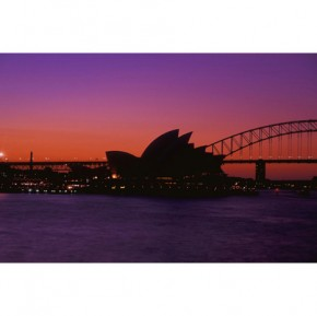 Sydney canvas art