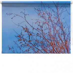 Tree branches printed blind